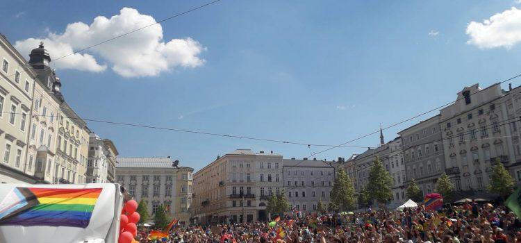 Ein Zeichen für Vielfalt – Pride Linz
