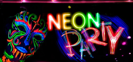 Party City Glow Body Paint