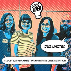 """JUZ Cloob beim Vernetzungstreffen """"Juz united"""""""