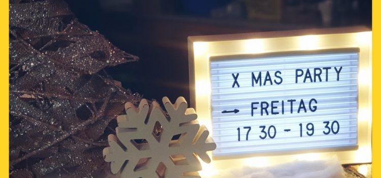 X-mas Party im FRANX