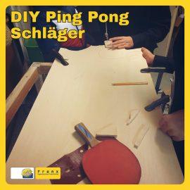 #Maunatog   DIY Ping Pong Schläger Workshop