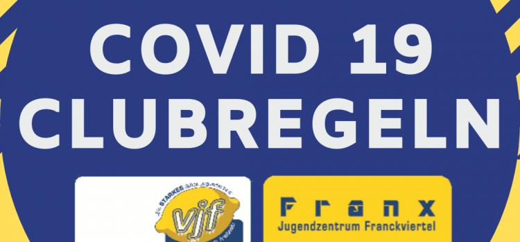 News | Covid 19 Regeln im JUZ