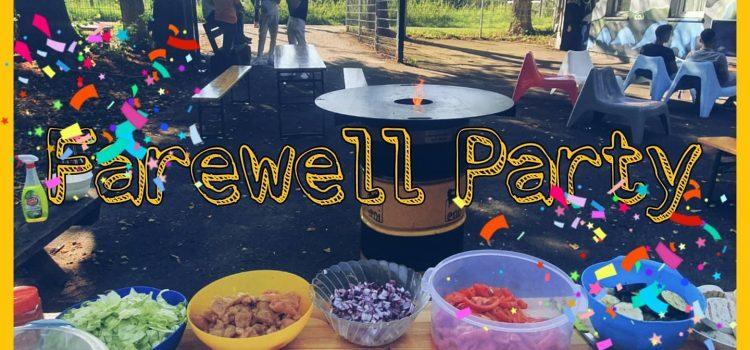 FRANX Farewell-Party   Wir verabschieden unsere Ältesten