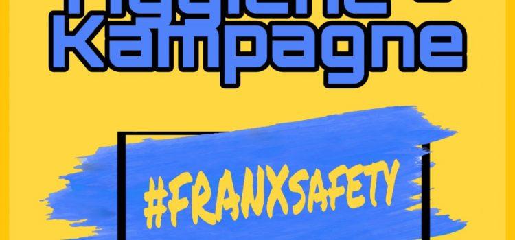 FRANX Hygiene-Kampagne