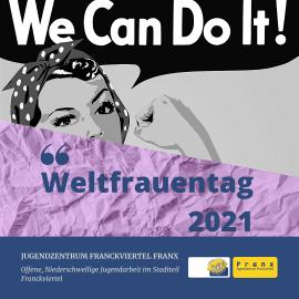 Wir starten unser Projekt zum Weltfrauentag 2021