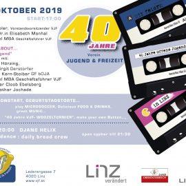 40 Jahre Verein Jugend & Freizeit