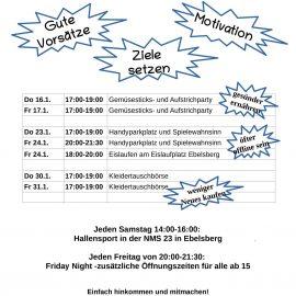 Jänner Programm