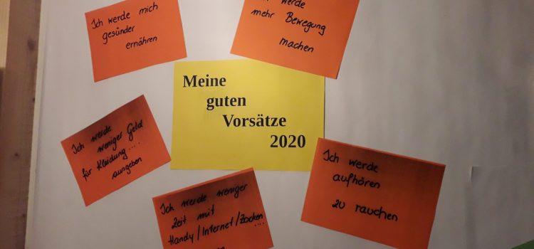2020 – ein neues Jahr & viele Vorsätze!
