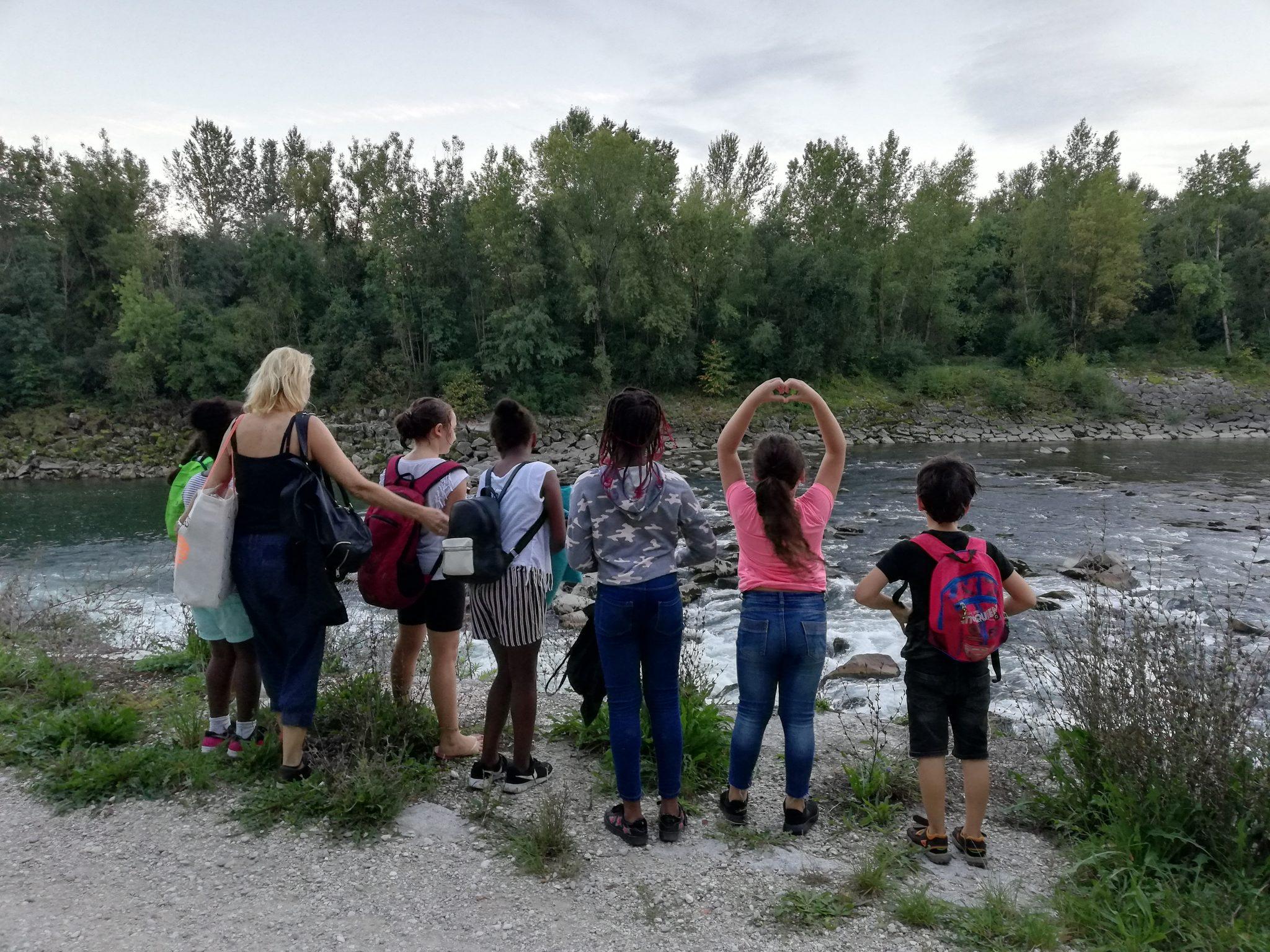 Ausflug: Grillen am Jauckerbach
