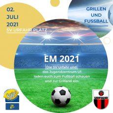 EM 2021 Grillen und Fußballschauen